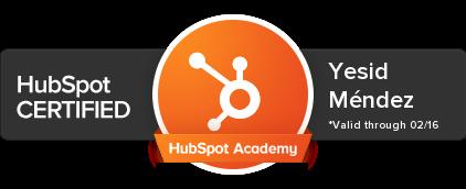 Certificacion_Yesid_Mendez_Hubspot