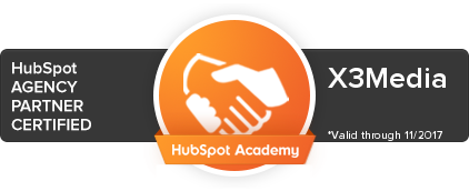 Certificación HubSpot X3Media